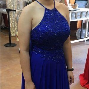 Gorgeous Mon Cheri Royal Blue Formal